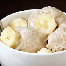 Spiced Banana Ice Cream