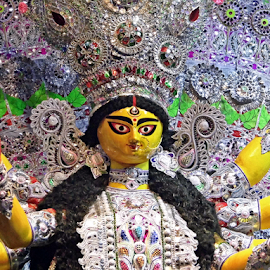 Durga Maa by Anindya Bhattacharjee - Artistic Objects Other Objects ( durga puja, durga,  )