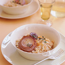 Red Grapefruit Risotto