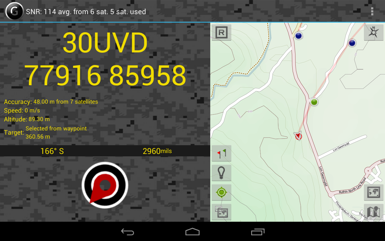GPS Grid Reference -  Full Screenshot 8