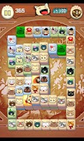 Screenshot of Hungry Cat Mahjong