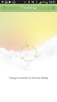 Screenshot of Nabby Baby Monitor