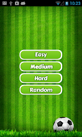 Screenshot of Football Quiz 2014