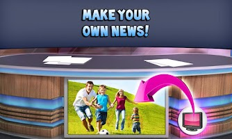 Screenshot of Talking Tom & Ben News