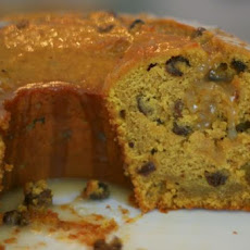 Pumpkin Raisin Rum Bundt Cake With Butter Rum Glaze
