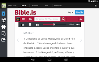 Screenshot of Sociedad Bíblica Chilena