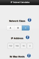 Screenshot of IP Subnet Calculator Free