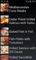 Screenshot of Diabetic Audio Recipes Lite