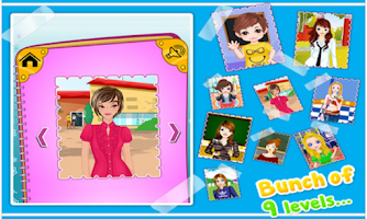 Screenshot of School Dressup - Kids Games
