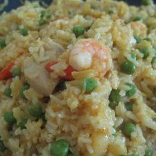 Curried Pineapple and Chicken Fried Rice