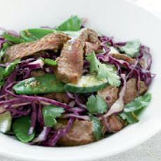 Warm Teriyaki Beef Salad
