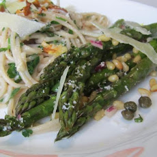 Grilled Asparagus With Lemon-Caper Vinaigrette