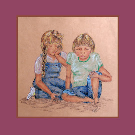 In Trouble? by Ingrid Anderson-Riley - Drawing All Drawing
