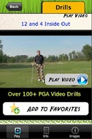 Screenshot of Golf Fix App