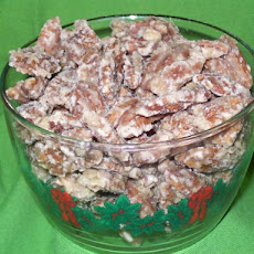 Southern Cinnamon Sugared Pecans