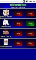 Screenshot of 1 & 3 play Video Poker