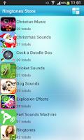 Screenshot of Free 54 Species Ringtones
