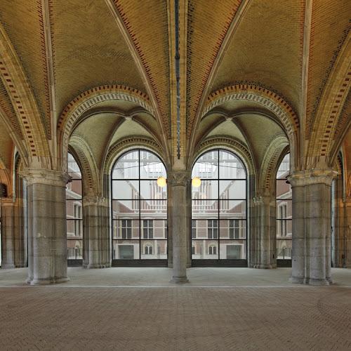 De passage gebouw en presentatie praktische informatie rijksmuseum - Entree schilderij ...