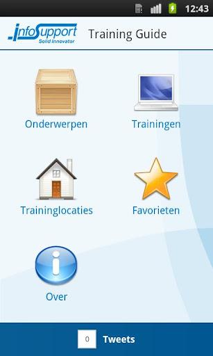 Info Support Training App