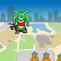 GPS Alien Attack