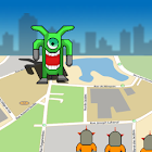 GPS Alien Attack icon