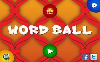 Screenshot of Word Ball Free