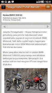 TenagaKuda Otomotif - screenshot
