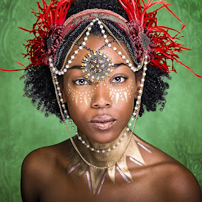 African Queen by Aaron Blackburn - People Portraits of Women ( #jewelry, #africanwomen, #thoseeyes, #stunning, #karlamedina, #_aaronbphotography, #beautiful, , object, artistic, jewelry, #GARYFONGDRAMATICLIGHT, #WTFBOBDAVIS )
