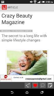 Lives Magazine - screenshot