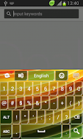 Screenshot of Keyboard for HTC One V