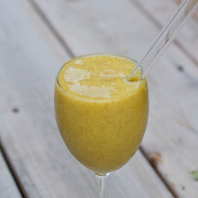 Mango Coconut Cream Smoothie