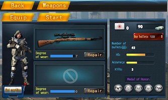 Screenshot of Speed Sniper Death
