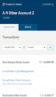 Screenshot of Forsyth Barr Investments App