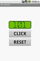 Screenshot of IQ Counter