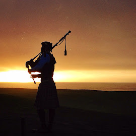 Bagpiper by Cesar Palima - Instagram & Mobile iPhone