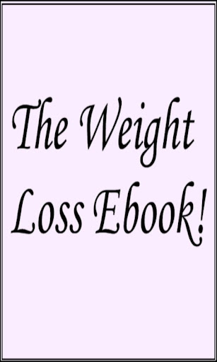 The Weight Loss Ebook