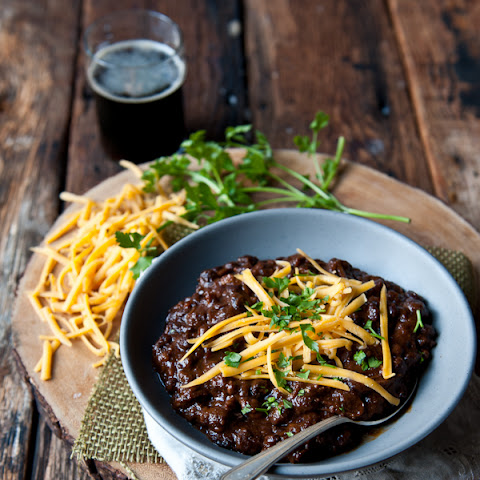 Short Rib Black Bean Beer Chili