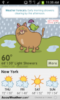 Screenshot of Weather Forecats