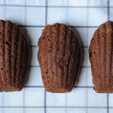 Chocolate-Orange Madeleine Cookies