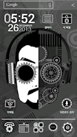 Screenshot of HD cyborg man_ATOM theme