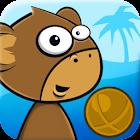 Monkey Kick Off -FREE fun game icon