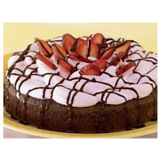 BAKER'S® ONE BOWL Chocolate-Strawberry Cake