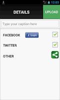 Screenshot of Instacap