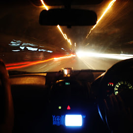 I'm on the way by Parjiyo Suwardi - Abstract Light Painting