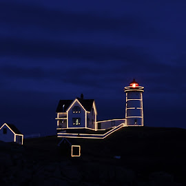 Nubble Lighthouse by Jenna Pettipas - Buildings & Architecture Other Exteriors