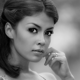 324356 by Ahmad Fauzi - Black & White Portraits & People
