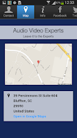 Screenshot of Audio Video Experts