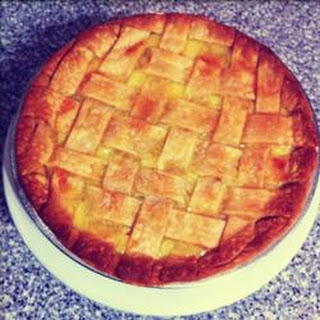 Pineapple and Lemon Pie