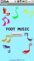 Screenshot of Foot Music