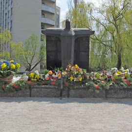 Monument to the Victims of Chernobyl by Michael Krivoshey - Buildings & Architecture Statues & Monuments ( disaster, april, ukraine, chernobyl, man-made-disaster, monument,  )